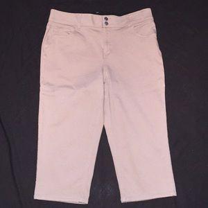 Women's Lane Bryant 16 Capris Pants